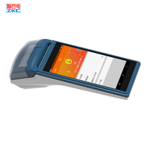 5.5 inch Touch Screen Android Handheld POS Terminal With Thermal Printer ZKC5501