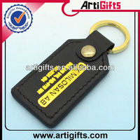 2013 New fashion pu leather key chain