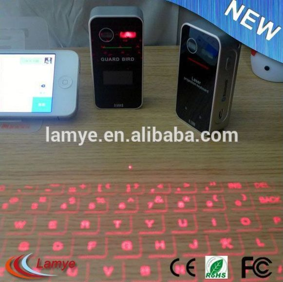 2015 High Quality Product Laser Virtual Keyboard , Wholesale Bluetooth Laser Projection Keyboard Alibaba Gold Supplier