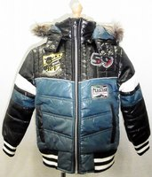 Boy Down Motor Cycle Jacket Motor Cycle kids strapless dresses sexy girls with animals qiqi fashion