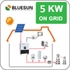 1kw-10kw solar system with good solar products for house