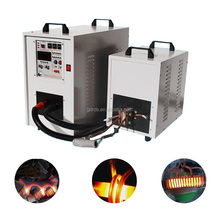 Medium frequency iron billet induction heater