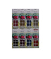 20 PK CHIC NAIL WRAPS 20 PK CHIC NAIL sticker Monochrome nail stick