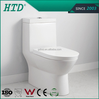 HTD-MA-2085 S-TRAP 250mm Hot sale Ceramic Siphonic One Piece Toilet
