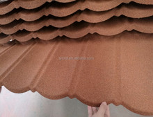 new Sunlight popular colorful stone coated metal roofing tile/metal corrugated tile roofing