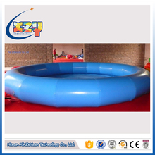 discount sale blue inflatable swimming pool