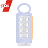 Dry Battery Backup Small 4+1 LED Emergency Lights with Round Handle
