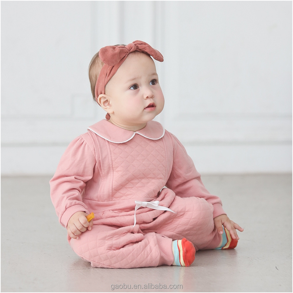 Toddler Kids Baby Boy Girls Warm Infant Jumpsuit Romper Clothes Bodysuit
