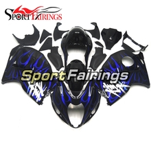 Injection ABS Blue Black Fairing Kits For Suzuki GSXR1300 Hayabusa 1300 97 98 99 00 <strong>01</strong> <strong>02</strong> 03 04 1997-2007 Motorcycle Fairings