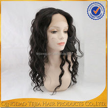Cheap wholesale loose wave virgin brazilian hair wigs lace front with baby hair
