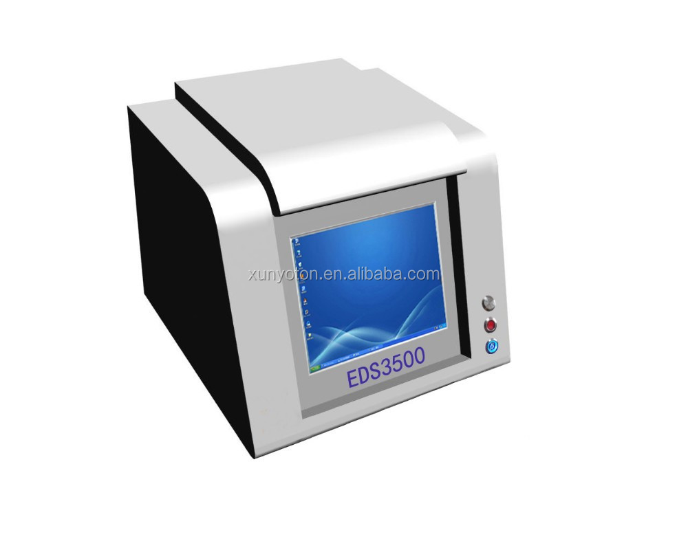 EDS3500 FCC,ROHS approved High precision gold XRF tester jewellery Machine