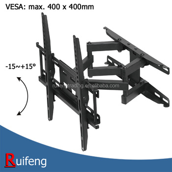 VESA 400x400mm Tilt Full Motion TV Wall Bracket
