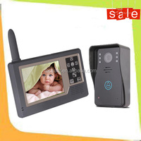 wireless video intercom door entry video security camera for apartment buildings TEC3501A11