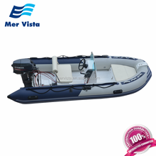 4 Meter Cheap Fishing Fiberglass Commercial Price Rigid Hull Inflatable Rib Boat For Sale Australia