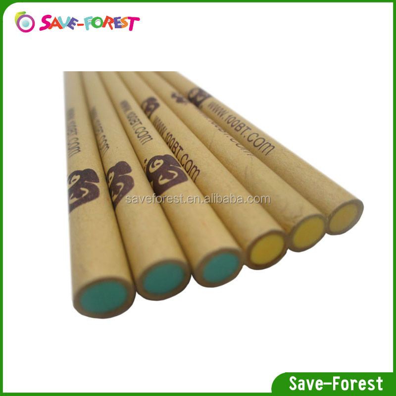 Kraft paper rod eraser stick, smiley face, heart shape eraser pen