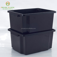 Eco-friendly multi-function waterproof plastic storage case with handle