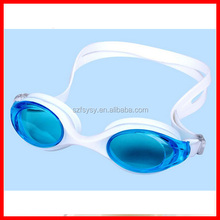 2016 Newest Adult Conjoined Style Silicone Swimming Goggles,Eco-friendly HD waterproof , anti-fog Swim Goggles Wholesale SALE