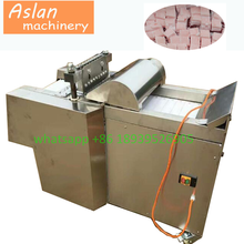automatic frozen beef cube dicer/chicken breast dicing machine/poultry meat cutting machine price