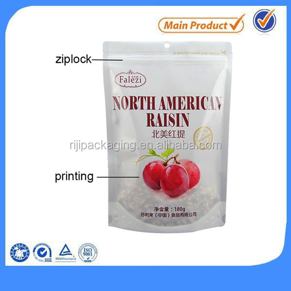 laminated plastic bag for packaging spice