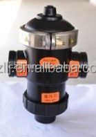 "Easy Installation DN40 1.5"" y strainer drain valve for sand filter with OEM factory"