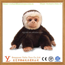 Promotional custom stuffed animal toys animated plush Orangutan toy