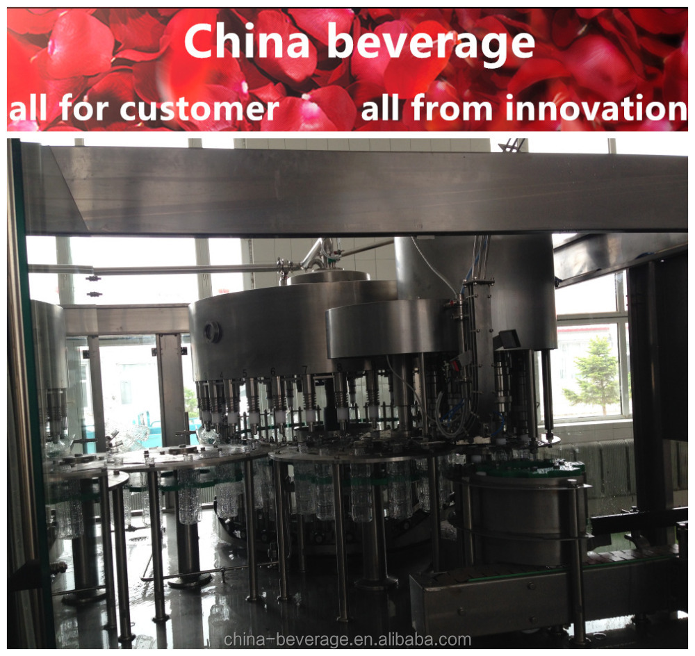 Hot sale electrical control water treatment plants for beverage / water / juice / soft drink preferred equipments