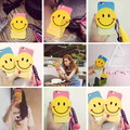 Cute 3D Smile Tassel Lovely PC Hard Back Cover Case for Apple iPhone 6S /6S Plus 5.5""