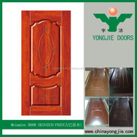 Commercial Molded Ash Or Teak Door Skin For Furniture, 3Mm,Natural Wood Or Ev Face Or Melamine Paper
