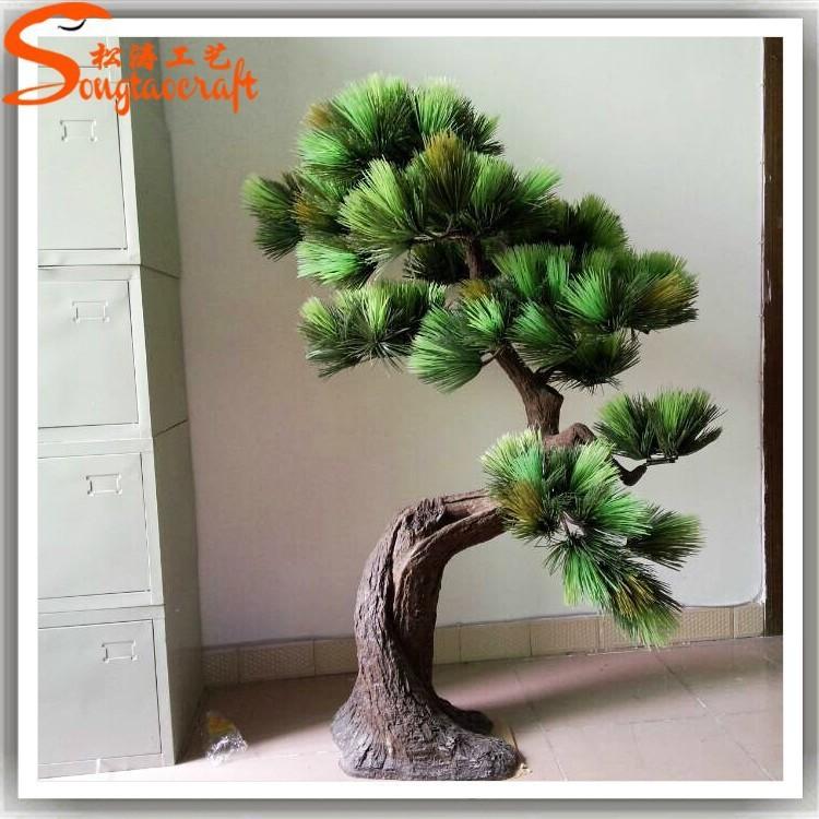 Wholesale decor artificial fake plants artificial pine for Artificial trees for home decoration