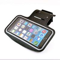 For iphone 6s plus sport outdoor Gym armband phone pouch screen card holder with earphone hole Belt running Bags