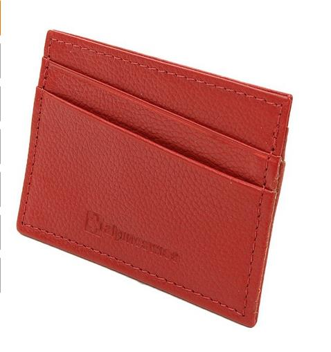 Custom fashion PU leather Card Holder