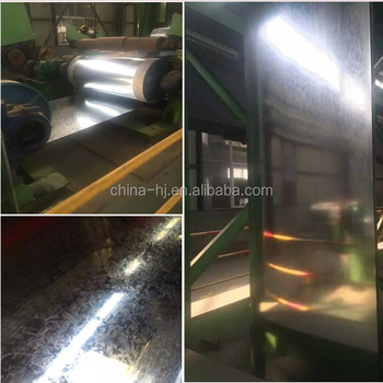 Hot dippedASTM A653,Z60 ,regular spangle galvanized steel coil