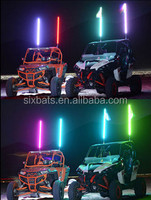 Sixbats Factory RGB America Auto Accessories Car Light LED Safety Flag Light For ATV,UTV