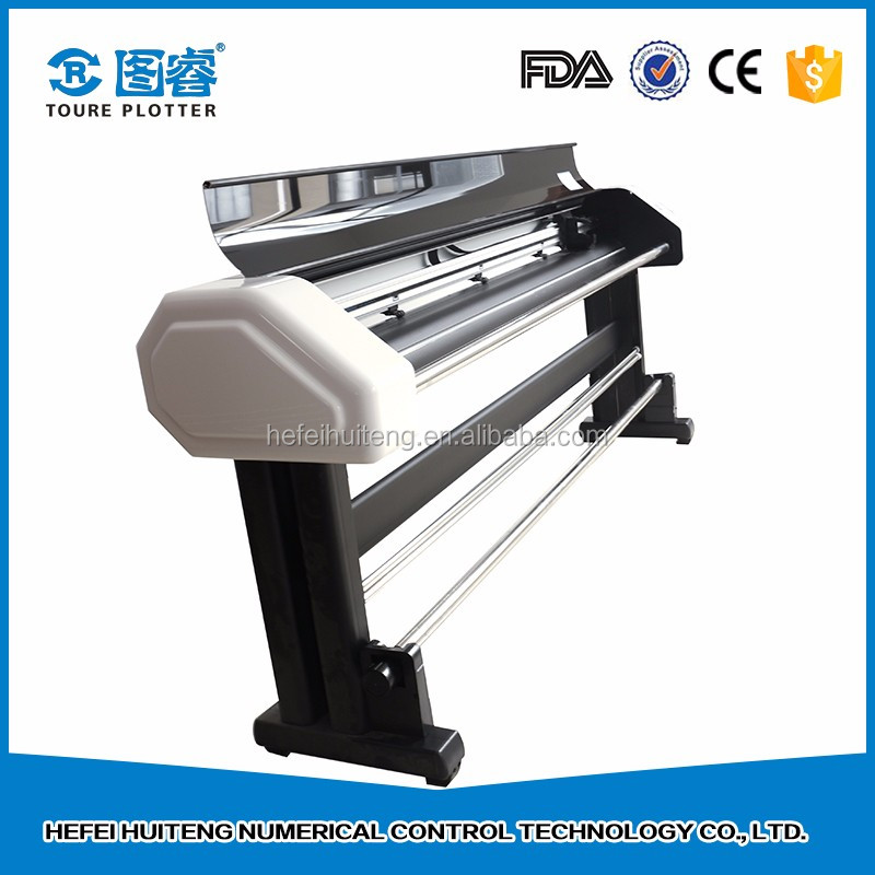High speed CAD paper double head vertical plotter printer