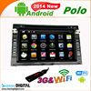Hot sales support Last Position Memory Automobile MP5 Navigation for VW Polo