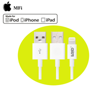 MFi certified retractable usb 2.0 to 8pin data sync charging cable