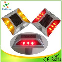 Fashion fasteners stud fog light solar road for custom