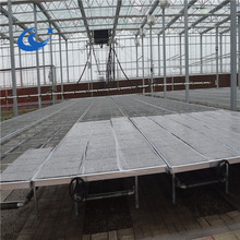 HOT SELL! Greenhouse benches rolling seed bed for seedling