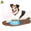 Home use pet feeding bowl blue plastic pet food bowl