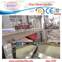 PET underwater pelletizing manufacturing machine/unit