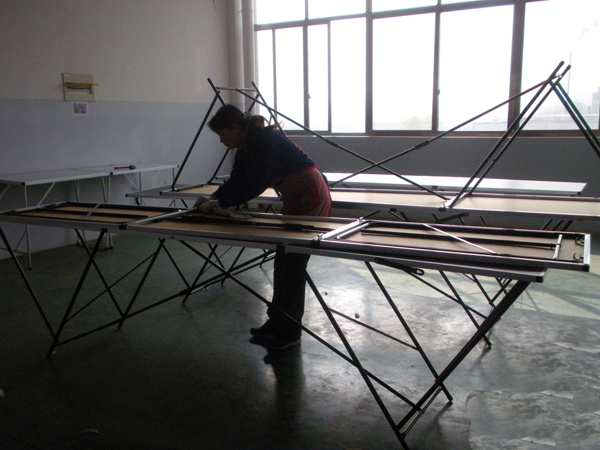 3 Sections (3m) Big wallpaper folding table