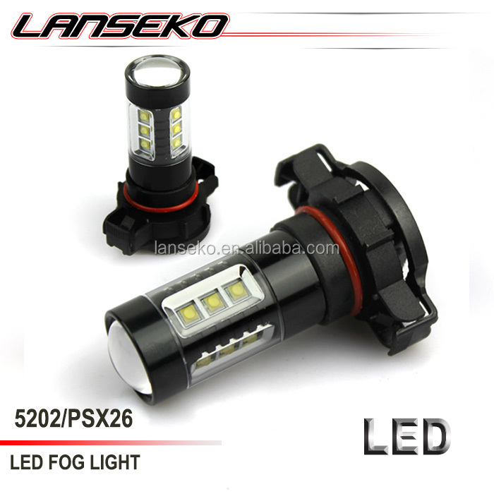 Hottest !! Auto lighting system led fog lamp 30W H8 H9 H11 9005 9006 H10 H16 5202 for toyota corolla fog lamp