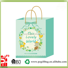 Alibaba China lovely design new idea gift paper bag wholesale