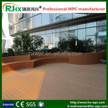 Waterproof interlocking composite decking/smooth surface composite decking