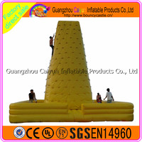 CY 2016hot selling and factory price mobile climbing wall,Inflatable Climbing Wall