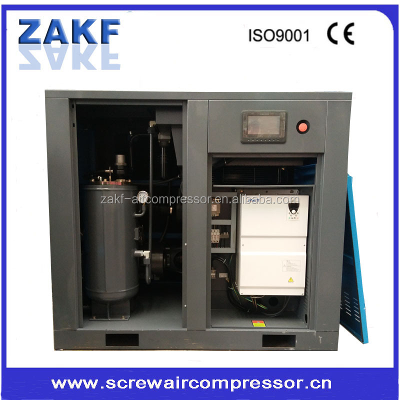60HP variable frequency air compressor machine for air compressed system