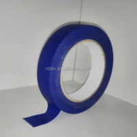 "High Quality Low Noise Nature Rubber UV Resistant 2"" x 60y Masking Tape Blue Painters Tape"