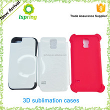 3D sublimation silicone material smartphone case good selling