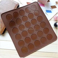 29*26cm silicone pad marca dragon 30 holes small cake pan baking tools