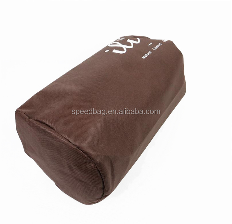 Nonwoven round single drawstring bag quilt package bag